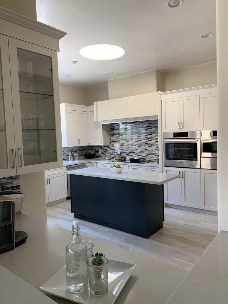 Rancho Santa Fe Cabinet Refacing Project